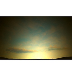 dawn vector image