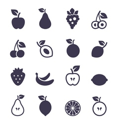 Icon fruit2 vector image