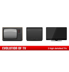 evolution of tv vector image