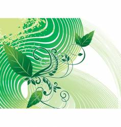 background foliage vector image vector image
