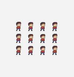 idle character animation vector image