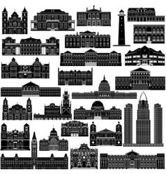 American Architecture-7 vector