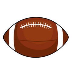 american football balloon icon vector image