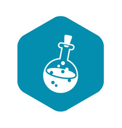 magic potion icon simple style vector image
