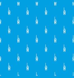 radio transmitter pattern seamless blue vector image