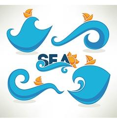 Sea time vector