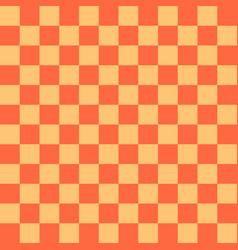 seamless pattern imitating chessboard ornament vector image