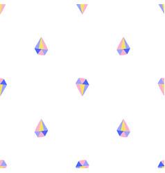 simple diamond seamless pattern vector image