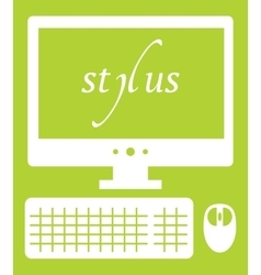 Web development stylus vector