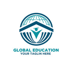 world university logo designs vector image