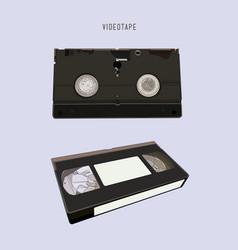 Vhs cassette vector