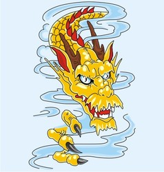 dragon art vector image vector image