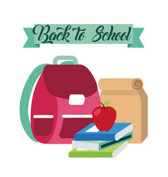 Back to school relax vector