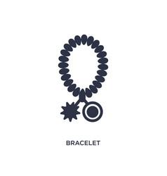 Bracelet icon on white background simple element vector