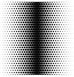 Halftone dots gradient background vector