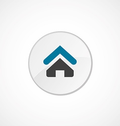 Home icon 2 colored vector image