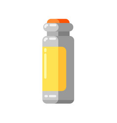 injection ampoule icon in flat style vector image