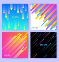 Minimal geometric backdrops trendy posters vector