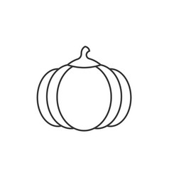 pumpkin outline icon vector image