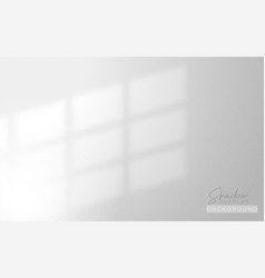 Realistic shadow overlay background design for vector