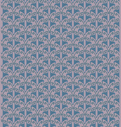 Seamless pattern with decorative ornaments vector