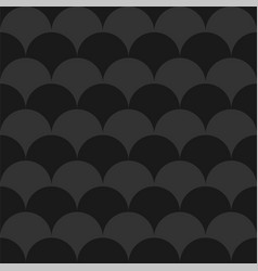 stylish seamless dark pattern black and grey vector image