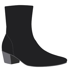 Woman boots vector image vector image