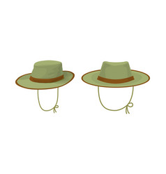 two hunter hat vector image