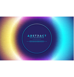 abstract dynamic modern circle background vector image