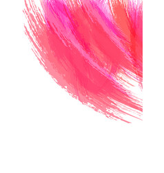 Abstract watercolor brush stroke background vector