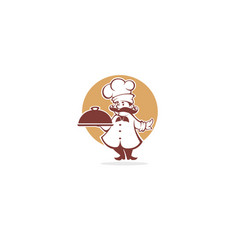 Best food chef symbol for your vector