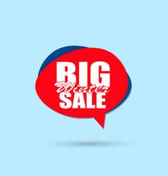big sale inscription sign vector image