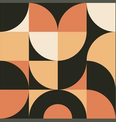 Geometry minimalist wall art with simple shape vector