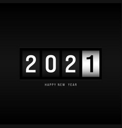 happy new year 2021 concept background decorative vector image
