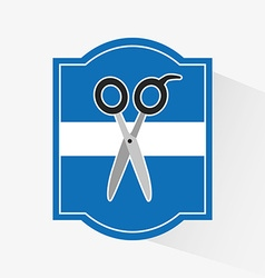 Scissors icon design vector