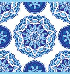 seamless pattern tile vector image