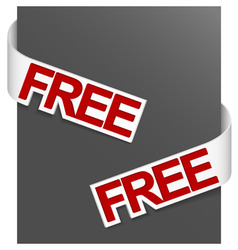 Sign free vector