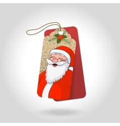 cute christmas gift tags with funny vector image