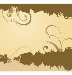 earthy background vector image vector image