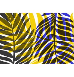 Decorative rainforest bright background vector