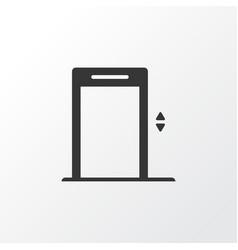 elevator icon symbol premium quality isolated vector image