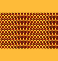 Honey comb beehive pattern textured background vector