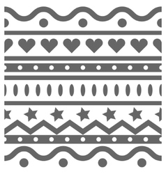 horizontal seamless pattern vector image