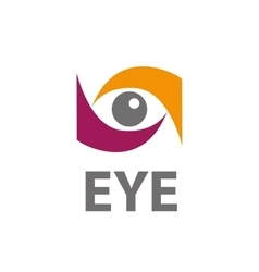 Logo eye vector