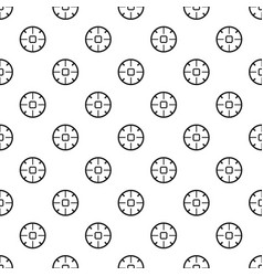 Sniper sight pattern seamless vector