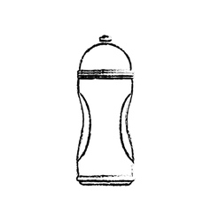Thermo sport bottle vector image