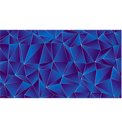 trendy low poly with indigo and violet backdrop vector image