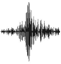 sound waves audio equalizer technology pulse vector image