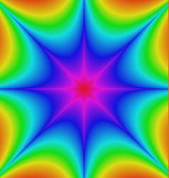 Abstract gradient star burst background design vector image