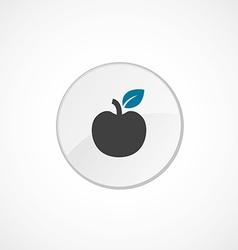 Apple icon 2 colored vector
